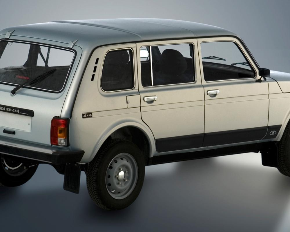 Lada Niva 2131. View Download Wallpaper. 1600x900. Comments