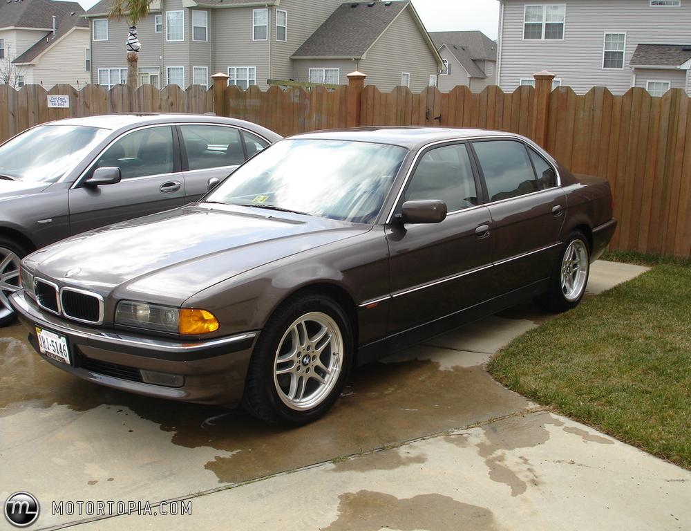 Photo of a 1998 BMW 740IL (My First Beamer). No longer owned