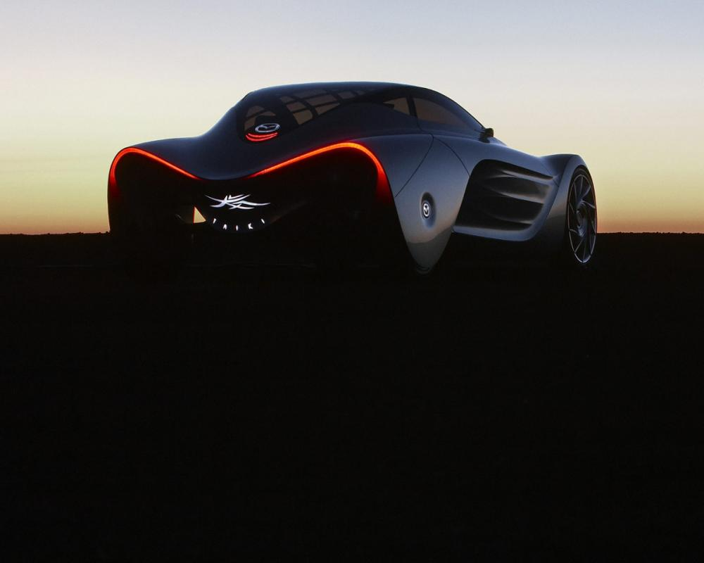 Mazda Taiki Concept The most futuristic of the Nagare concepts the Taiki