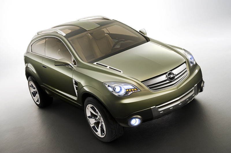 Opel Antara GTC Concept The main design elements are the compact three-door