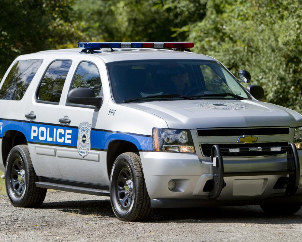 "2012 Chevrolet Tahoe PPV image. ""With the Tahoe PPV, police officers get"