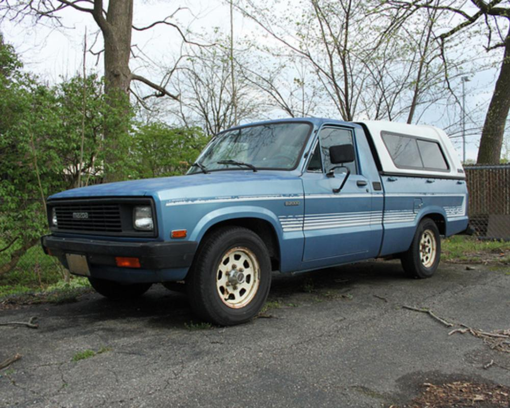 Mazda B2000 SE-5. Oregon truck- hardly a speck of rust on it. Gorgeous.