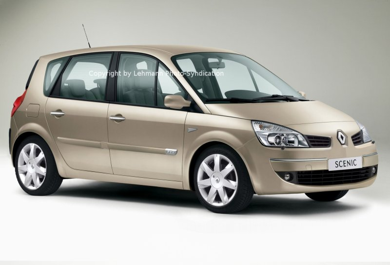 RENAULT Scenic II 1.6 i 16V 115 HP AT. Car Technical Data. Power. Torque.