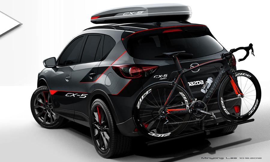 Actor and racer Patrick Dempsey inspired this Mazda CX-5 concept for SEMA.