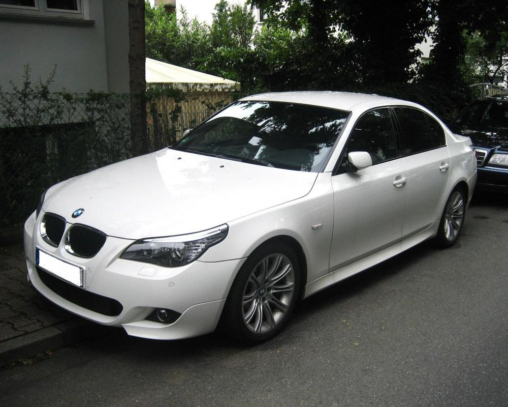 BMW 530i – Front Angle, 2008. 2008 bmw 530i. BMW 530i Luxury Sedan by