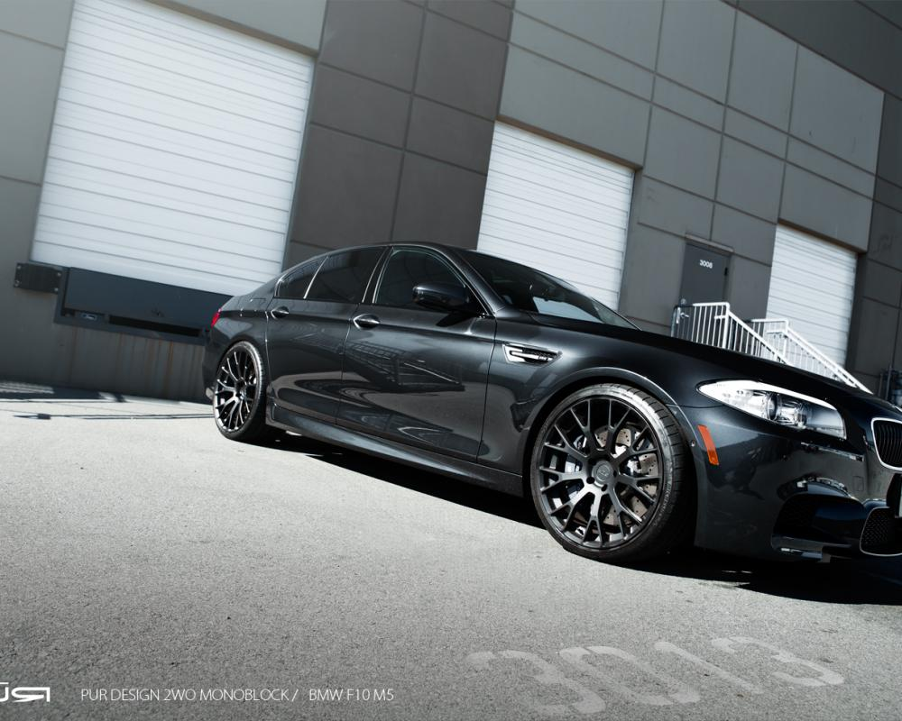 2013 F10 BMW M5 on PUR Wheels