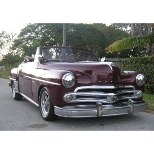 1950 Dodge Wayfarer Sportabout Convertible Click to enlarge