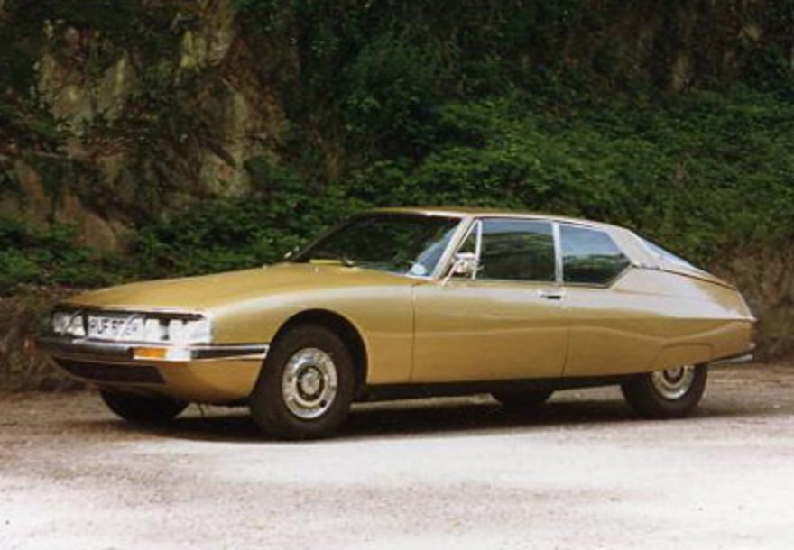 Presently, Citroen SM is considered to be a highly collectible model.