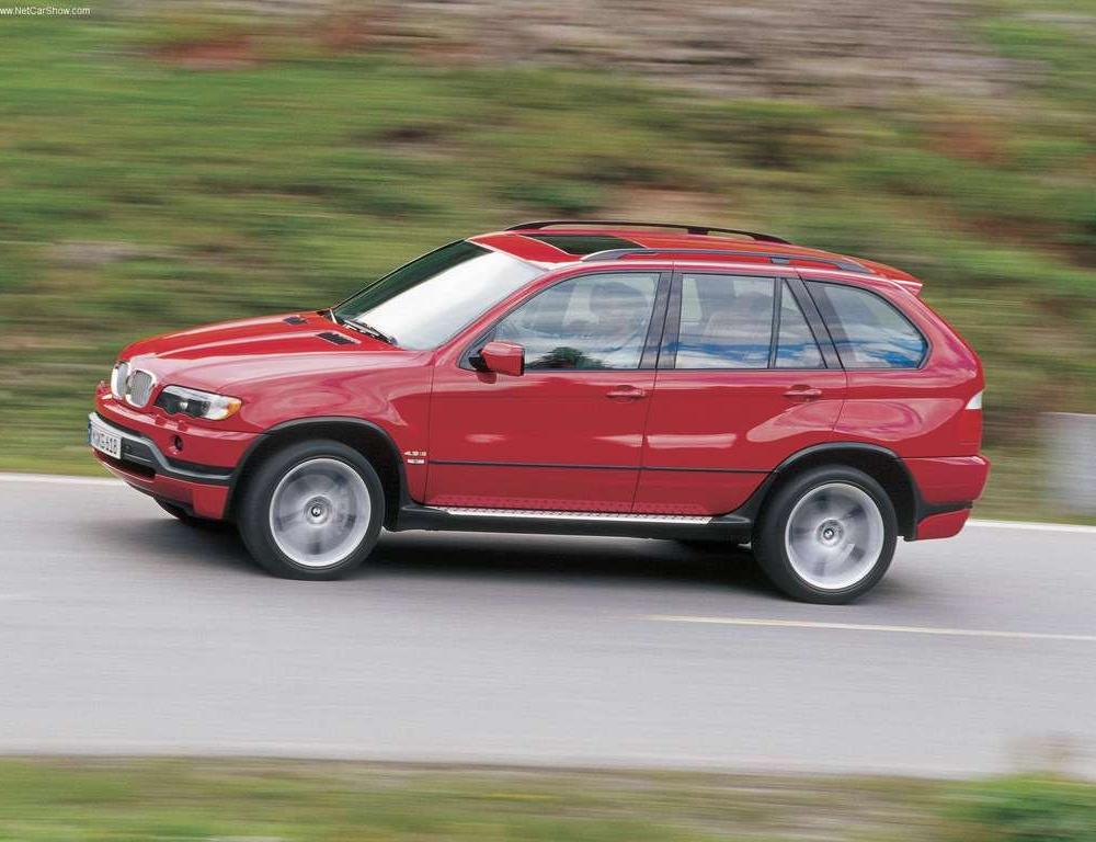 On this page we present you the most successful photo gallery of BMW X5 46IS
