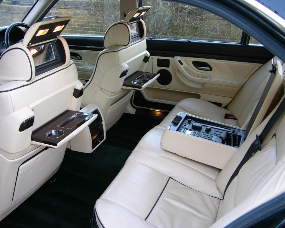 BMW 750iL Marketed by TheCarSpy.