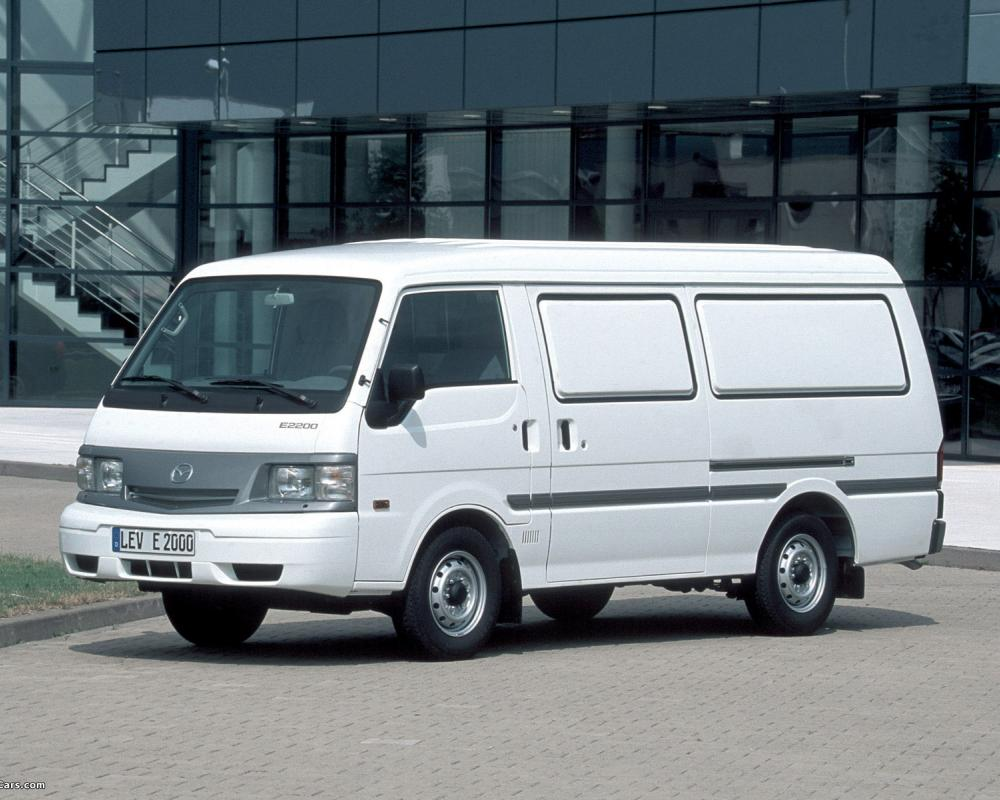 Photos of Mazda E2200 Van 1989–2001 (1600 x 1200)