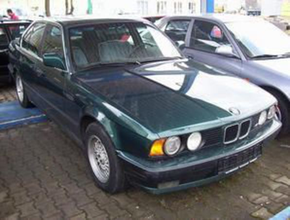 BMW 524 TD, Turbo Diesel, year 1990, only 135 KM, Automatic Gear,
