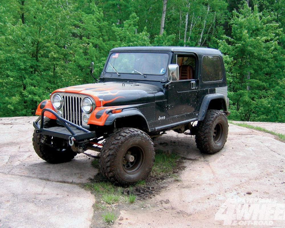 January 2010 Readers Rides 1981 Jeep Cj 7