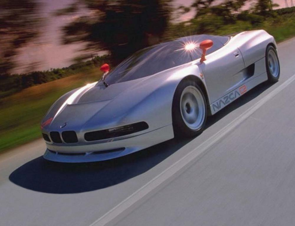 One of the rarest BMW's ever made is up for sale - BMW Nazca C2 supercar