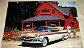 1957 Dodge Custom Royal lancer 2 dr ht c $6.00