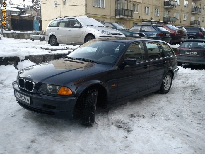 bmw 320d break 2001 foto mare