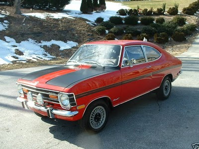 "The seller describes this 1969 Opel Kadett Rallye as the ""best in the"