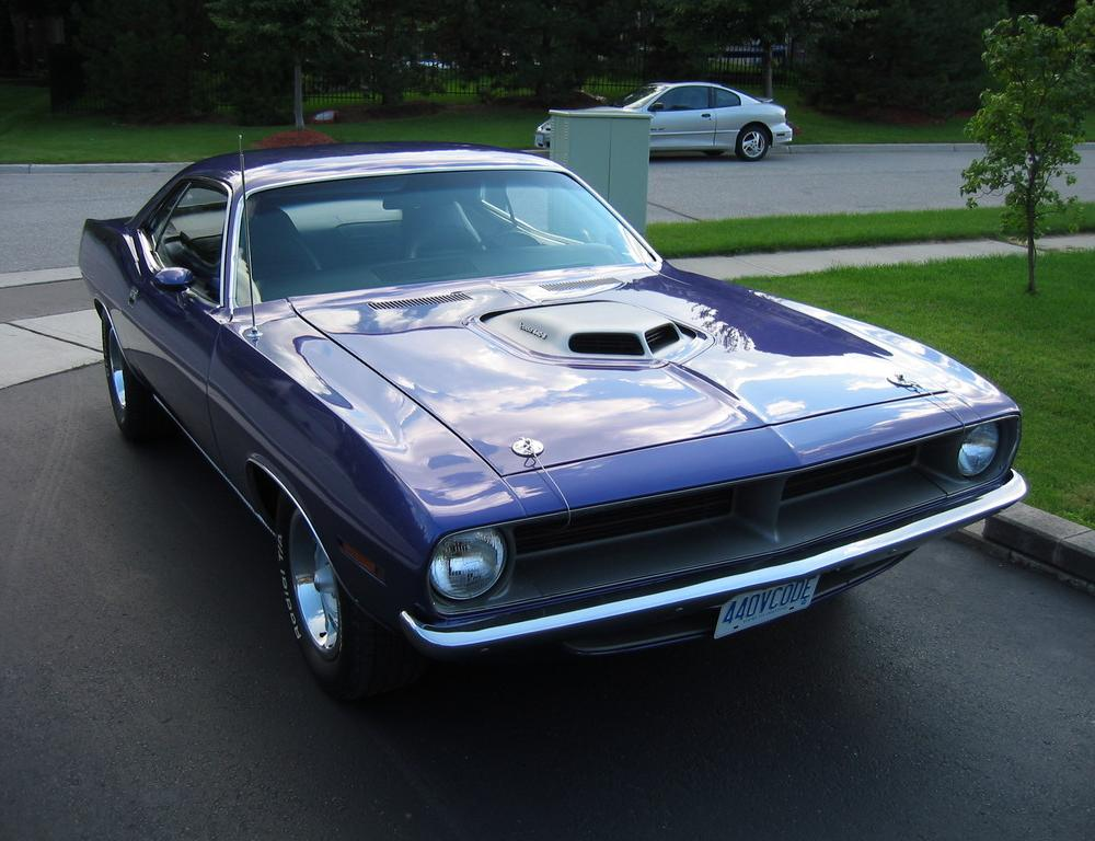1970 Plymouth Barracuda 440-6. Original V code car.