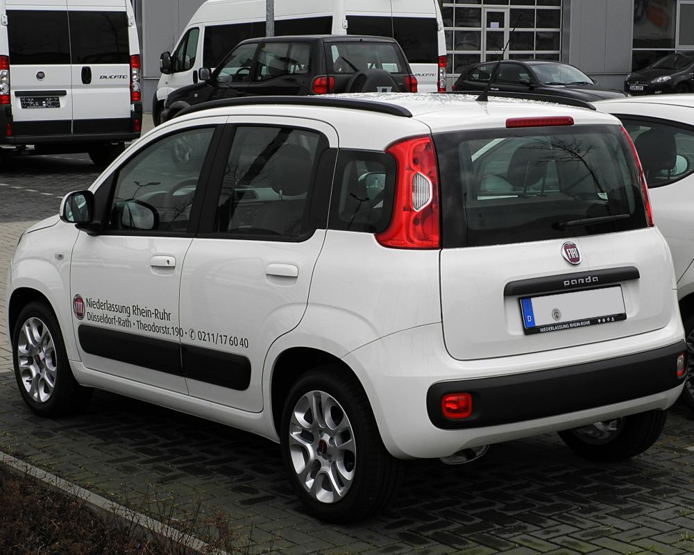 likely be the Fiat Panda, which will get a model that will grow in size,
