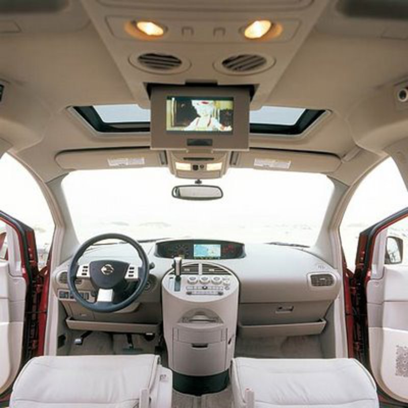 Nissan Quest Wide inside or interior