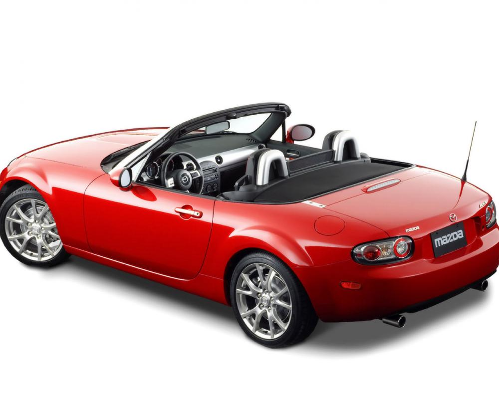 rouge mazda mx 5 miata limited 2006
