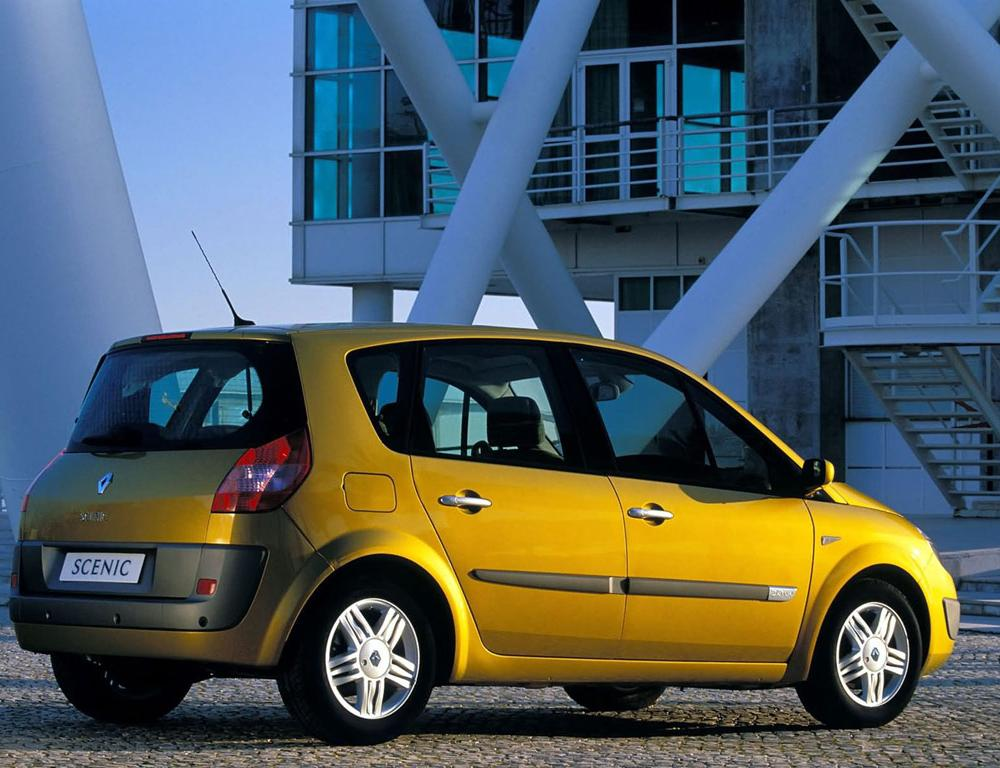 ABCar - tapety na pulpit - Renault Scenic II