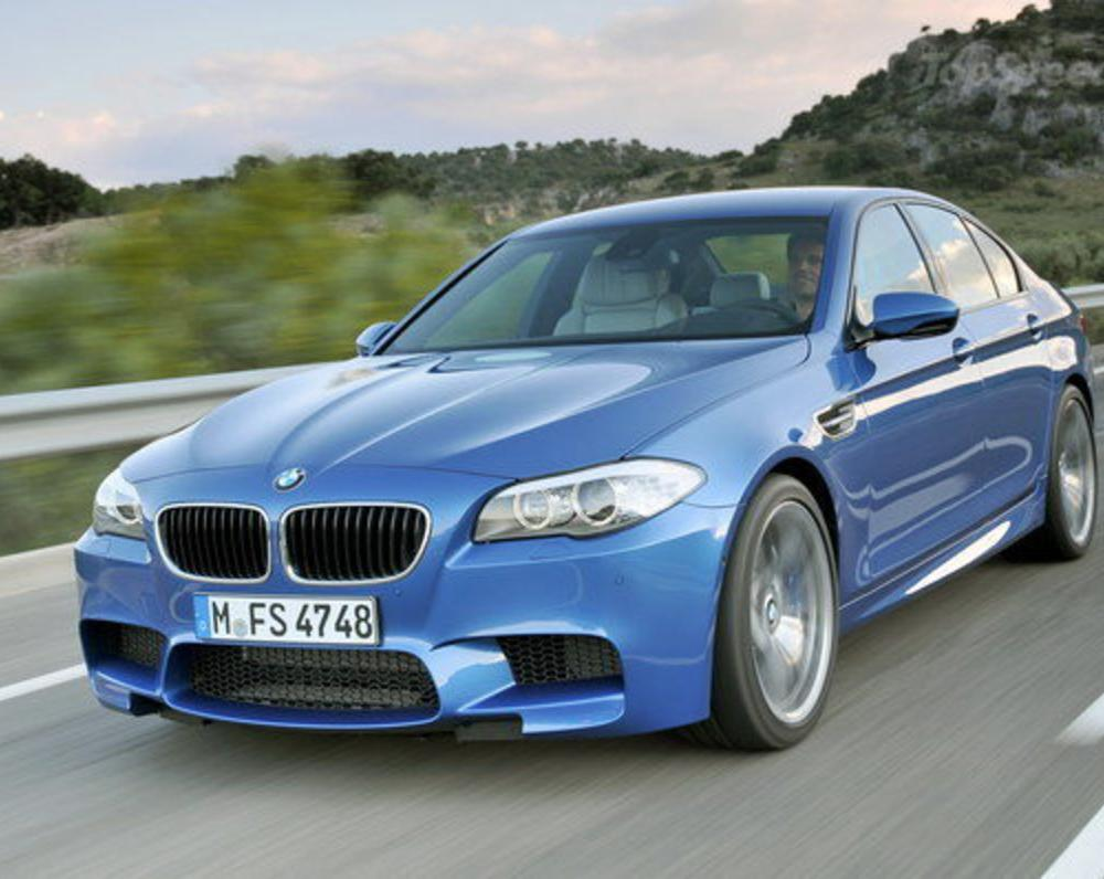 2012 BMW M5 - Top Speed