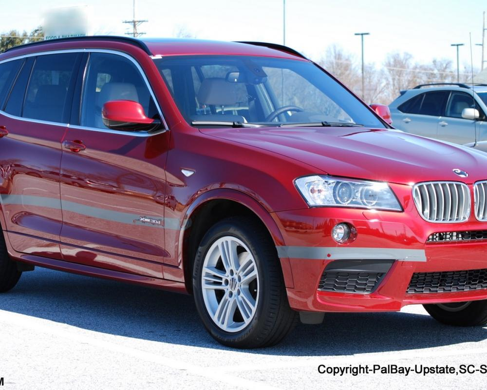 the X3 xDrive30d made its debut this past year when the F10 530d went on