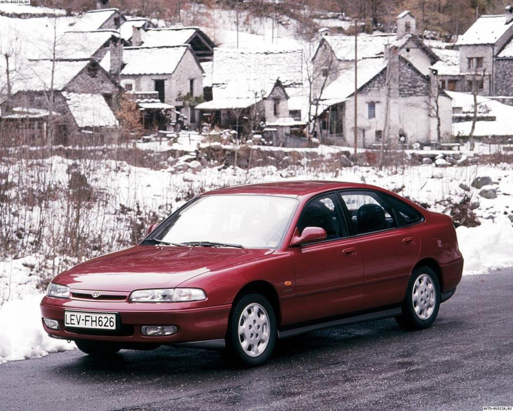 1992 Mazda 626 2,5i V6 GE. Photo of Mazda 626 2,5i V6 GE