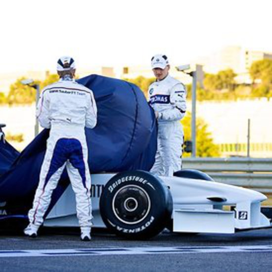 2009 F1 - BMW F109 Launch Valencia photos