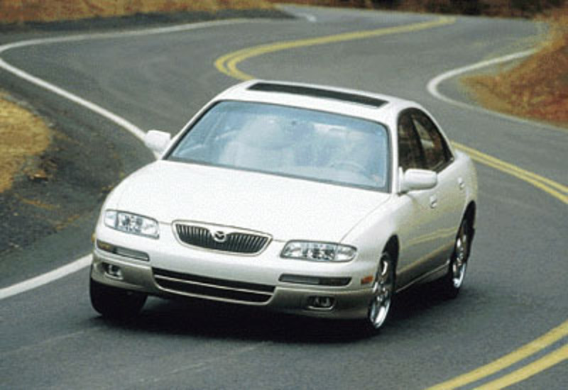 1999 MAZDA Millenia. Pssst! Mazda makes a secret luxury car keep it to