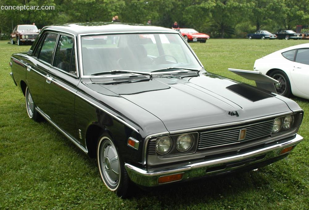 1971 Toyota Crown at the Concours d'Elegance at Ault Park