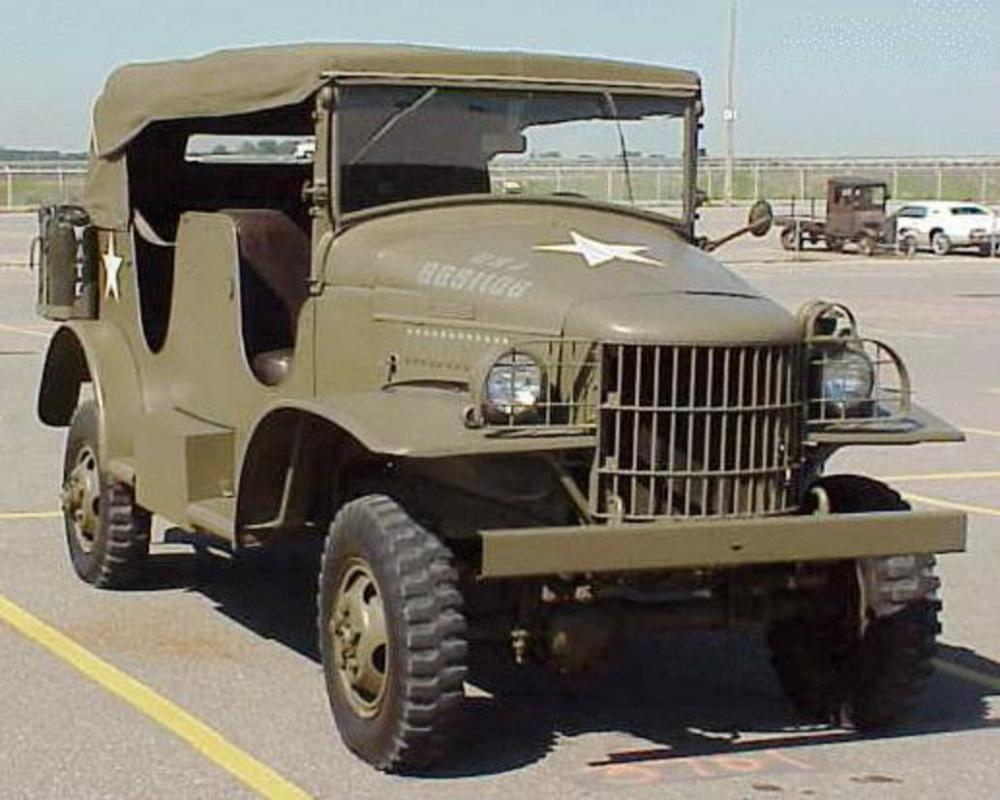 Dodge 12 Ton 4x4 Power Wagon WC-24 Command Car