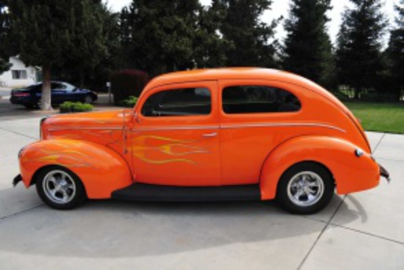 ford-streetrod. 1940 Ford StreetRod. Contact Dan (209) 836-8958 for details,