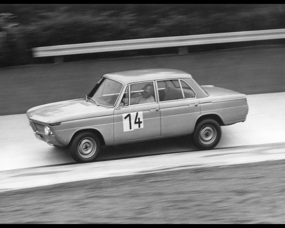 1962-1972 BMW New Class - BMW 1800 TI in 12 Hour Race at the Nurburgring