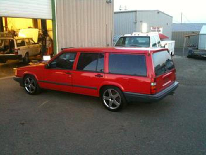 of a Volvo Cross Country and transplant it into a 1991 Volvo 740 wagon?