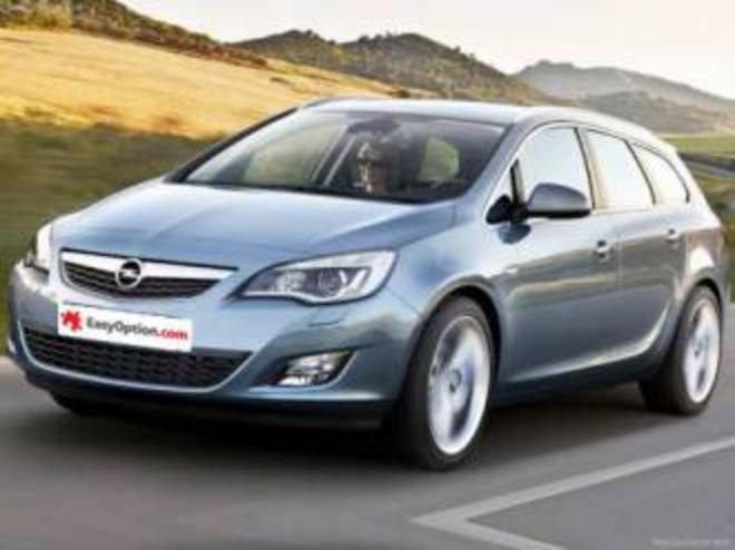 Opel Astra SW: 05 photo