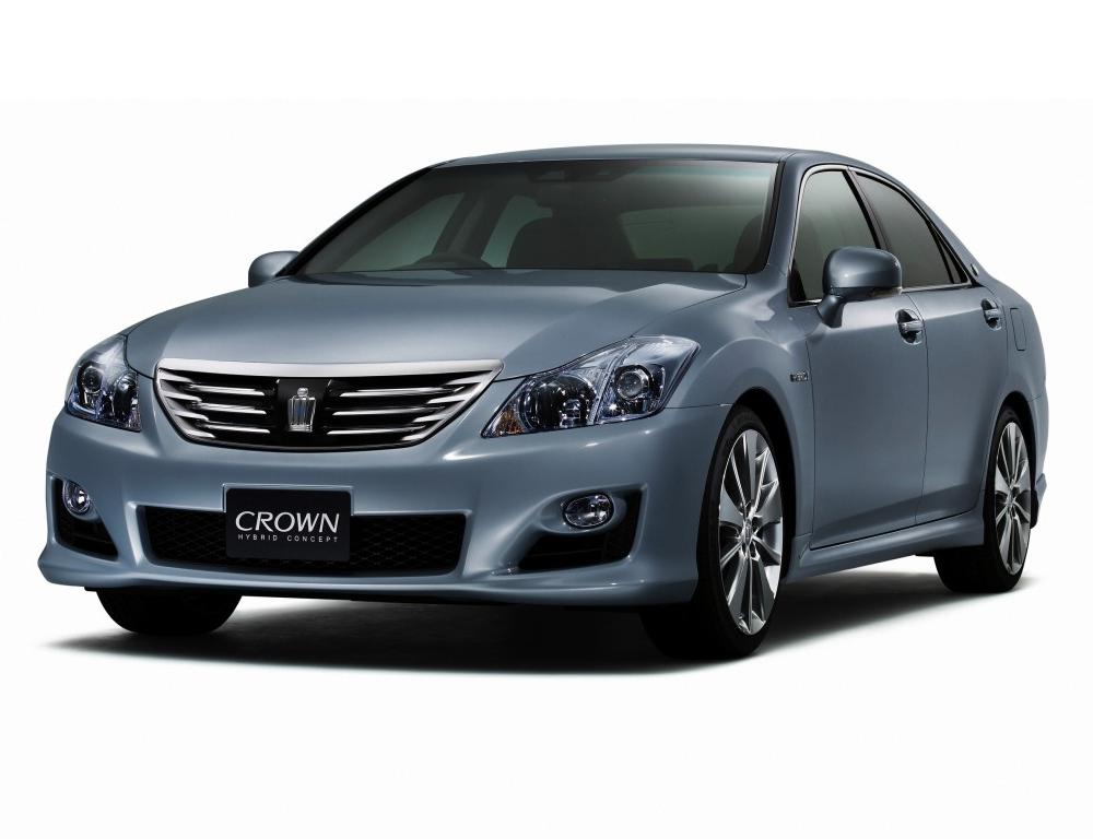 2007 Toyota Crown Hybrid Concept. 2007 Toyota Crown Hybrid Concept