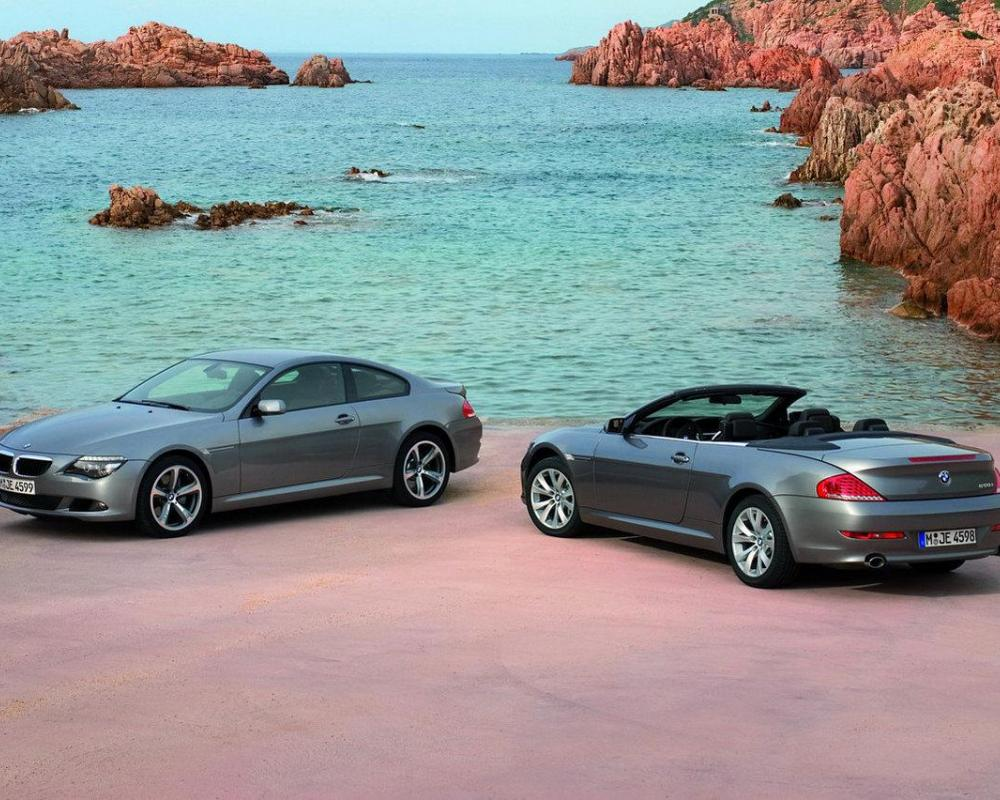 BMW 6-series facelift. BMW 6-series Coupe and Cabriolet