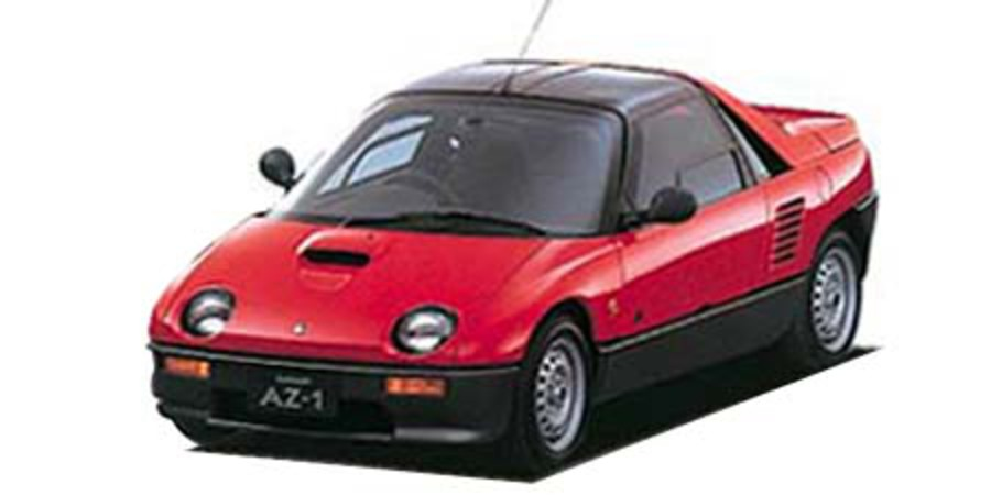 MAZDA AUTOZAM AZ-1. Date of the first production: 1992/10