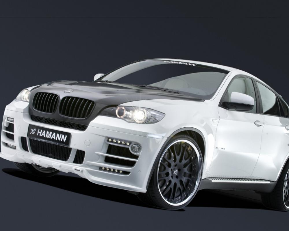 Hamann BMW X6 The German tuning company Hamann has modified the BMW X6