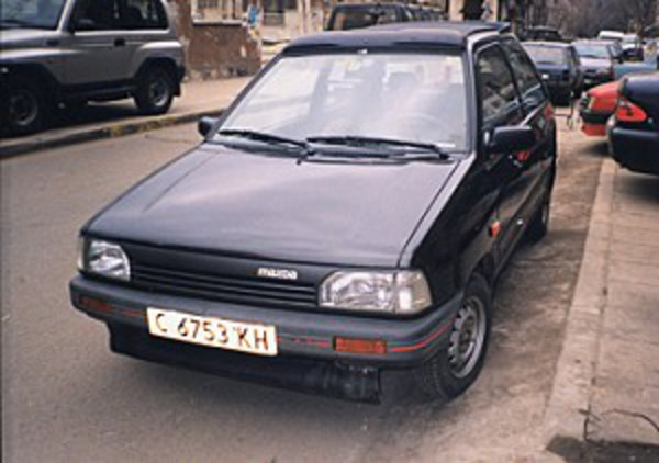 Production of the Mazda 121/Japanese spec Ford Festiva ran from 1987 to 1992