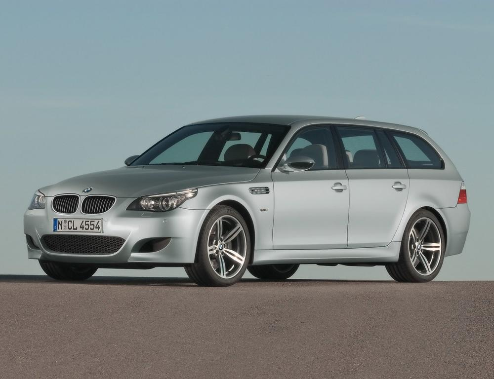 BMW M5 Touring 2008 BMW has announced details of the revised 5 Series Saloon