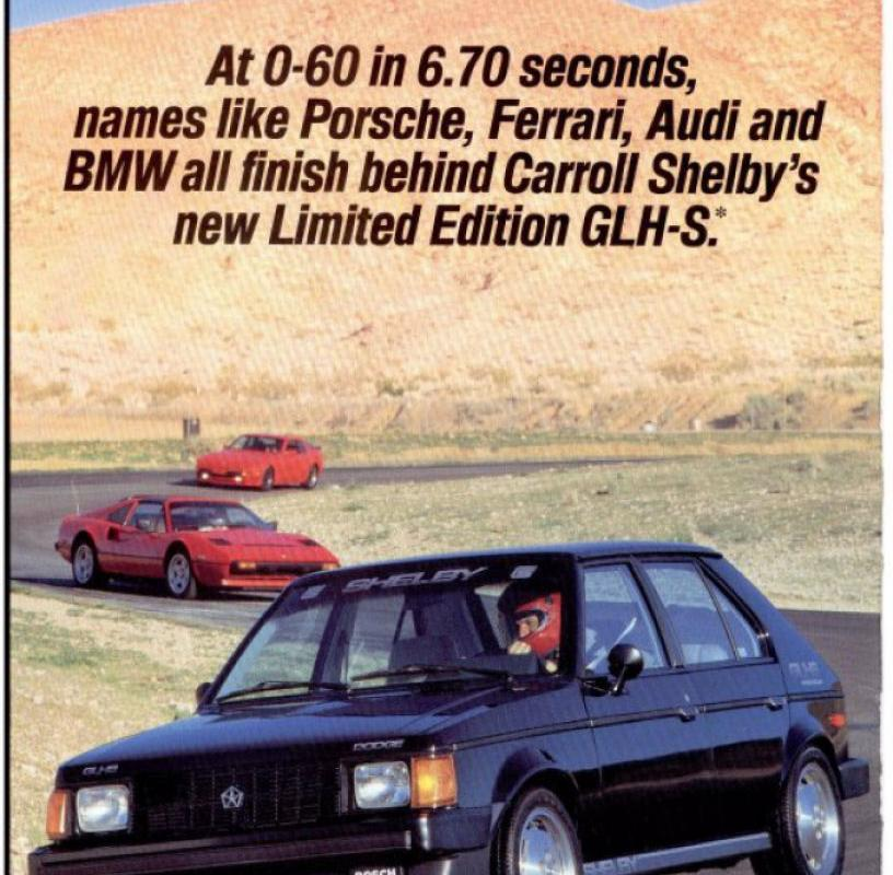 Nostalgic Wednesday: Dodge Omni GLH