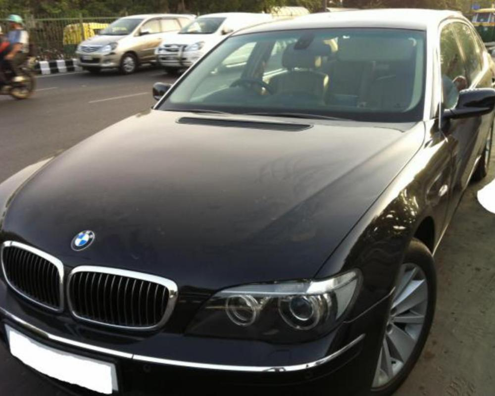 For immediate sale BMW 730LD 2007 black colour Delhi registered - Delhi
