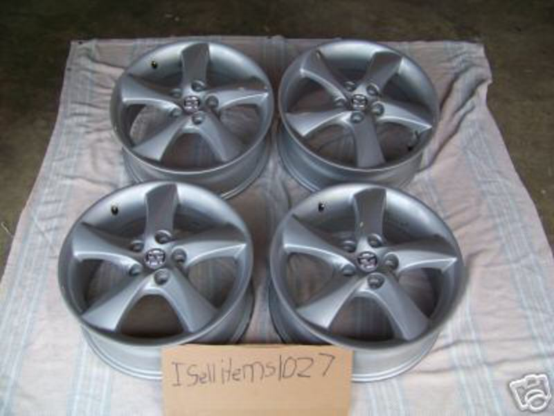 Attached Thumbnails. 2007 Mazda6 18inch Stock Rims For SALE-stock_rims.jpg