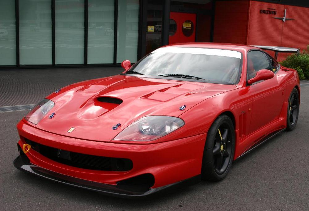 Ferrari 550 Maranello - cars catalog, specs, features, photos, videos,