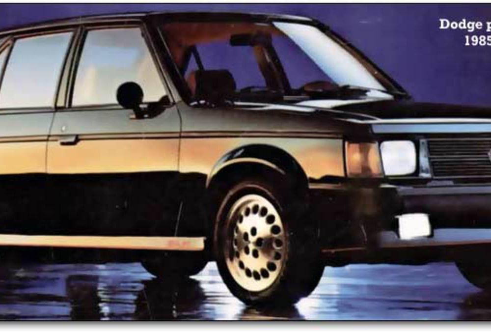 CC Capsule: 1985 Dodge Omni GLH – The Triplets in the Yard