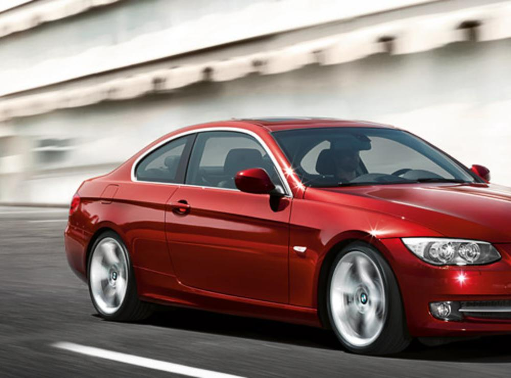 THE NEW PERFECT LINE. BMW 320d Coupé xDrive. 137 g/km CO2.