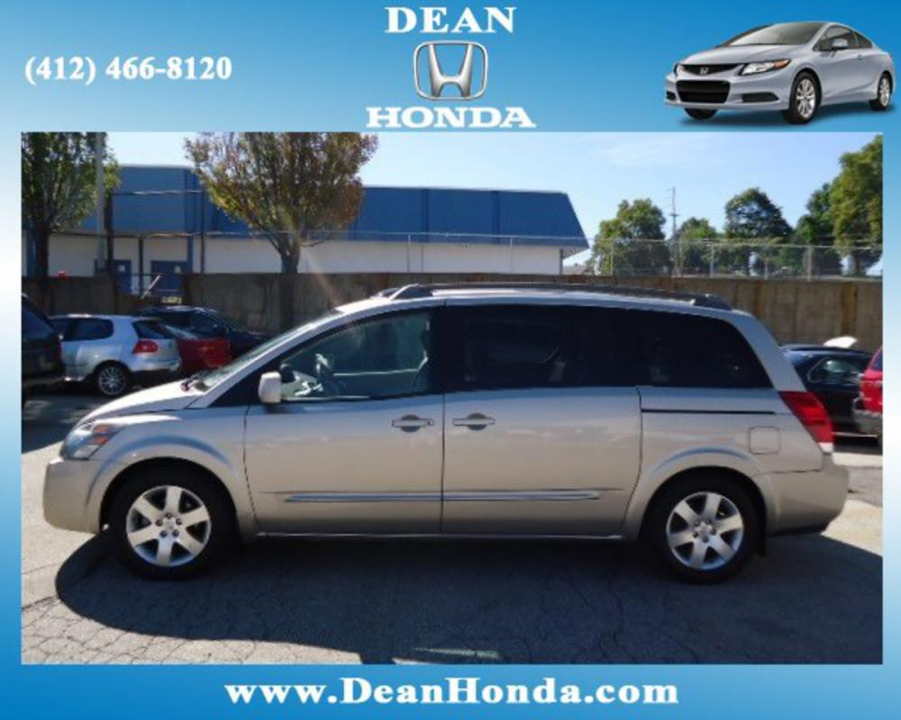 2006 Nissan Quest 35 SE 35L V6 24V MPFI DOHC 5-Speed Automatic Beige